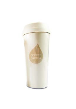 Double-Walled Coffee Cup (L)