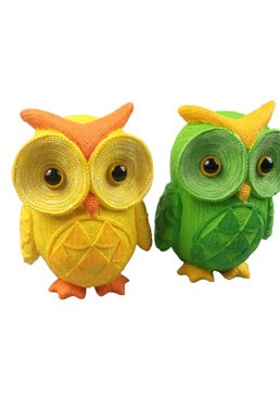 Owl Coin Bank